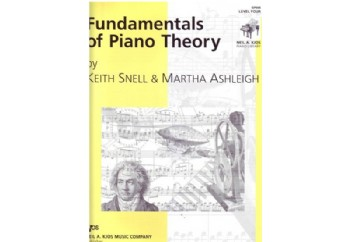 Fundamentals of Piano Theory Level 4 Kitap - Piyano Teorisi