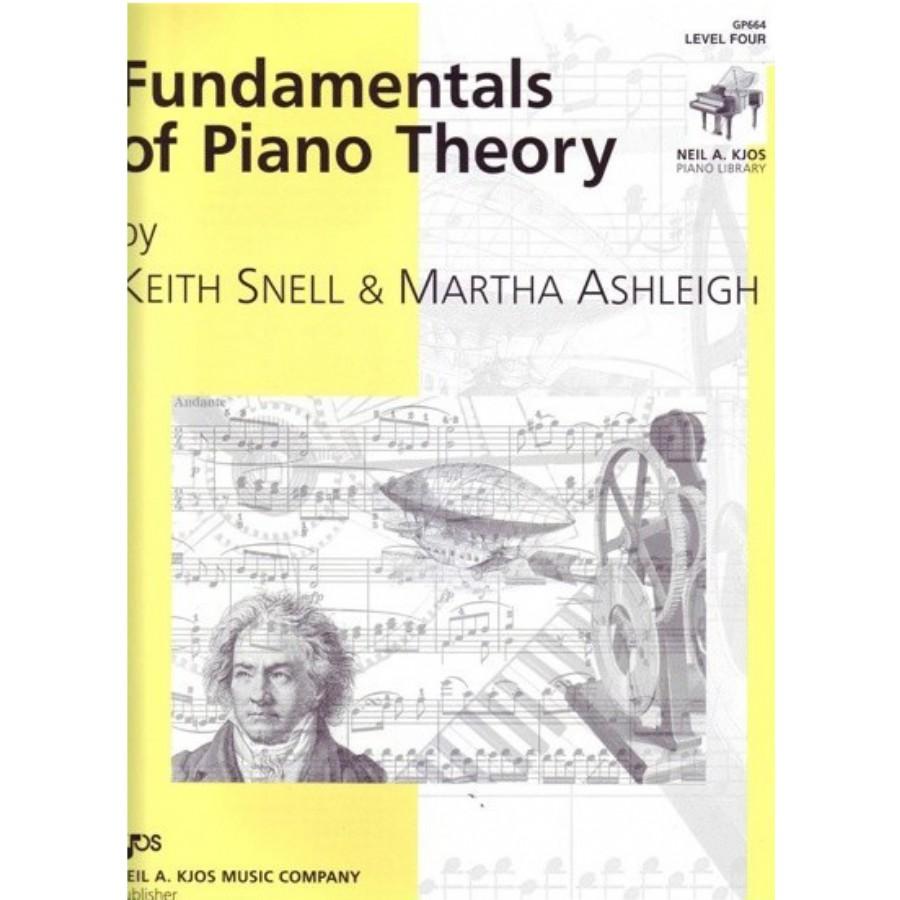 Fundamentals of Piano Theory Level 4