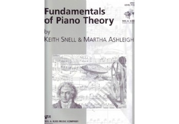 Fundamentals of Piano Theory Level 5 Kitap - Piyano Teorisi