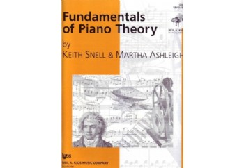 Fundamentals of Piano Theory Level 6 Kitap - Piyano Teorisi