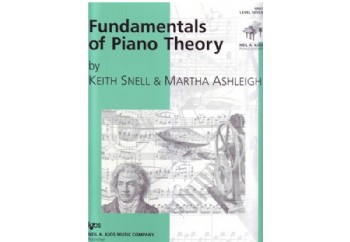Fundamentals of Piano Theory Level 7 Kitap - Piyano Teorisi