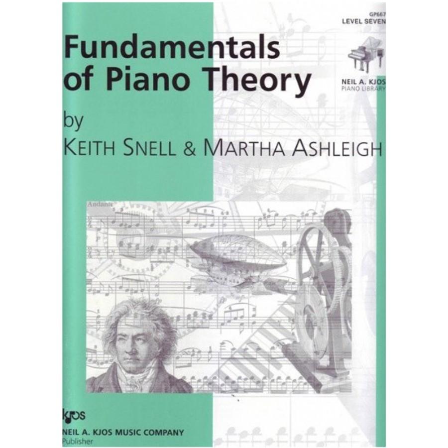 Fundamentals of Piano Theory Level 7