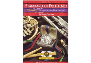 Standard of Excellence for Flute Book 1 Kitap - Yan Flüt Metodu (2 CD'li)
