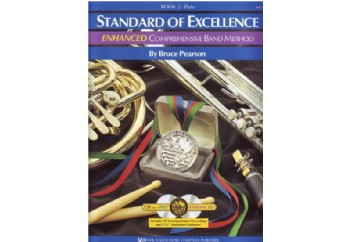 Standard of Excellence for Flute Book 2 Kitap - Yan Flüt Metodu (2 CD'li)