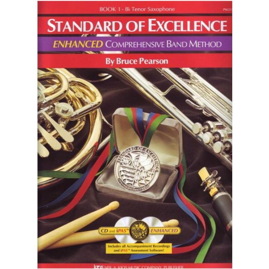 Standard of Excellence Enhanced Book 1 Tenor Saxophone