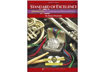 Standard of Excellence Enhanced Book 1 Oboe Kitap