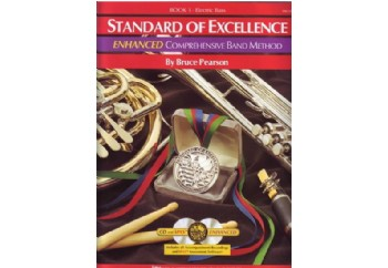 Standard Of Excellence Comprehensive Band Method Book 1 Kitap - Bas Gitar Metodu (2 CD'li)