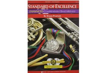 Standard Of Excellence Comprehensive Band Method Book 1 Bb Clarinet Kitap - Klarnet Metodu (2 CDli)