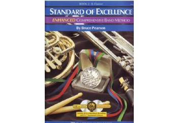 Standard Of Excellence Comprehensive Band Method Book 2 Bb Clarinet Kitap - Klarnet Metodu (2 CDli)