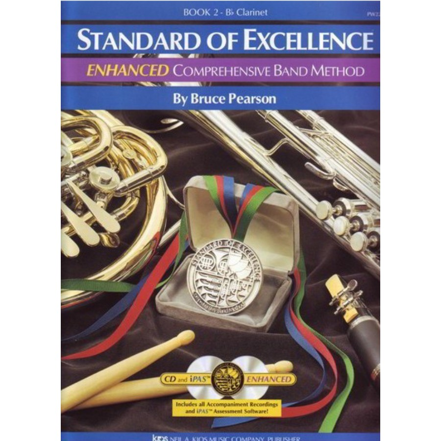 Standard Of Excellence Comprehensive Band Method Book 2 Bb Clarinet