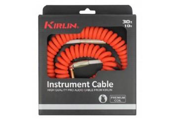 KIRLIN IMK-202PFGL Premium Coil Instrument Cable 10 metre - Enstrüman Kablosu (10mt)