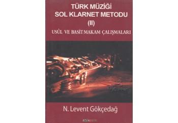 Türk Müziği Sol Klarnet Metodu 2 Kitap - N. Levent Gökçedağ