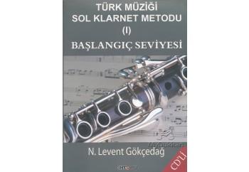 Türk Müziği Sol Klarnet Metodu 1 Kitap - N. Levent Gökçedağ