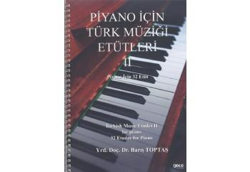 Piyano İçin Türk Müziği Etütleri 2 Kitap - Barış Toptaş