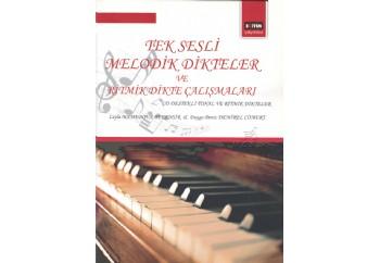 Tek Sesli Melodik Dikteler ve Ritmik Dikte Çalısmaları Kitap - Leyla Mamedova Bekensir