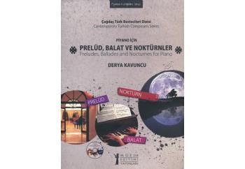 Piyano İçin Prelüd Balat ve Noktürnler Kitap - Derya Kavuncu