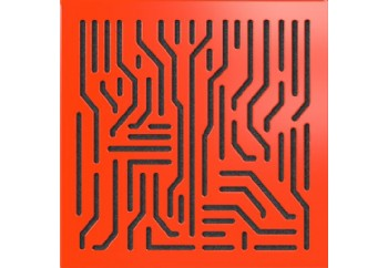 Artnovion Azteka - Absorber Rouge - Soğurucu (Emici) Akustik Panel