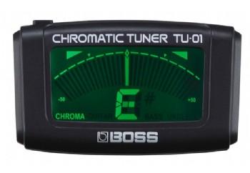 Boss TU-01 Clip-on Chromatic Tuner - Akort Aleti