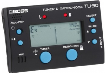 Boss TU-30 Metronome & Tuner - Metronom&Akort Aleti