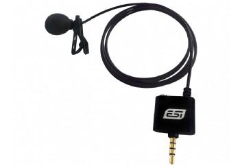 ESI Audio cosMik Lav - iPhone, iPad, Android ve Çeşitli Mobil Cihazlar için Lavalier Omni-directional Condenser Mikrofon