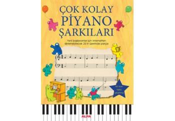 Çok Kolay Piyano Şarkıları Kitap - Anthony Marks