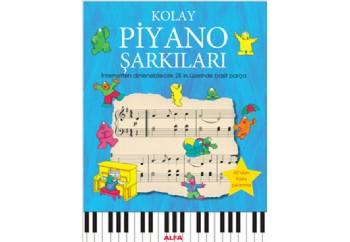Kolay Piyano Şarkıları Kitap - Anthony Marks