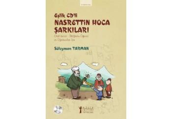 Eşlik Cd'li Nasrettin Hoca Şarkıları Kitap - Süleyman Tarman