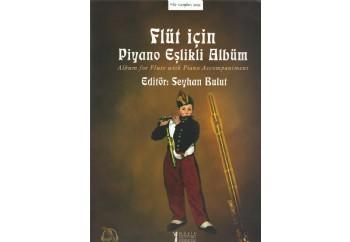 Flüt İçin Piyano Eşlikli Albüm Kitap