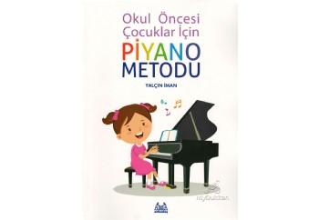 Okul Öncesi Çocuklar İçin Piyano Metodu Kitap - Yalçın İman
