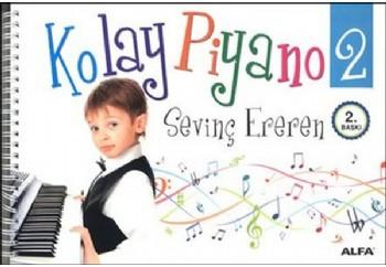 Kolay Piyano 2 Kitap - Sevinç Ereren
