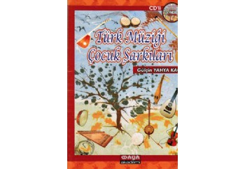 Türk Müziği Çocuk Şarkıları Kitap - Gülçin Yahya Kaçar
