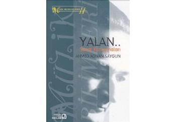 Yalan - sanat Konuşmaları Kitap - Ahmed Adnan Saygun