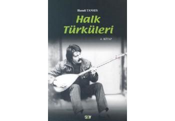 Halk Türküleri 4 Kitap - Hamdi Tanses