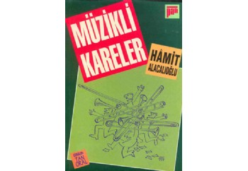 Müzikli Kareler Kitap - Hamit Alacalıoğlu