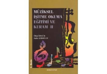 Müziksel İşitme Okuma Eğitimi ve Kuram - 2 Kitap