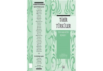 Tahir Türküler - Türk Halk Müziği Seçmeler 3 Kitap - M. Kemal Karaosmanoğlu