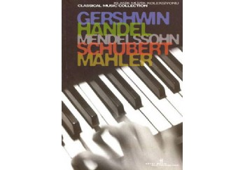 Klasik Müzik Kitaplığı 2 Ciltli Kitap - Franz Schubert, Frideric Handel, Gustav Mahler, George Gerswin, Felix Mendelssohn