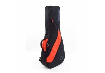 Fusion FG-03 Funksion Acoustic Guitar Gig Bag Black & Orange - Akustik Gitar Çantası