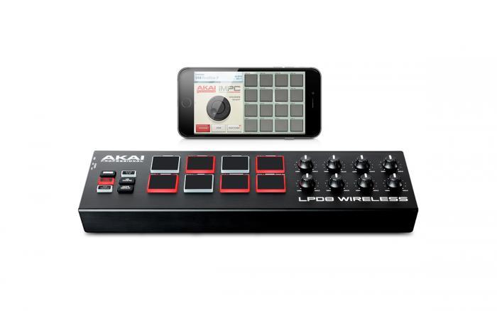 Akai Professional Lpd8 : akai professional lpd8 wireless pad kontrol ~ Hamham.info Haus und Dekorationen