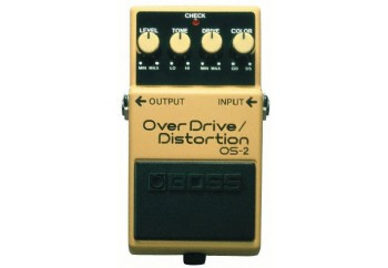 Boss OS-2 OverDrive/Distortion - Overdrive Distortion Pedalı