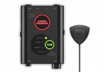 IK Multimedia iRig Acoustic Stage - Akustik Gitarlar için Gelişmiş Dijital Mikrofon Sistemi