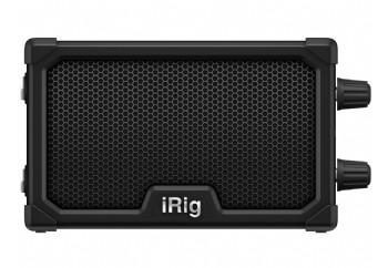 IK Multimedia iRig Nano Amp Black - iOS Cihazlarla Uyumlu Elektro Gitar Amfisi