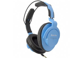 Superlux HD661 Professional Monitoring Headphones Mavi