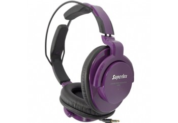 Superlux HD661 Professional Monitoring Headphones Mor - Referans Kulaklık