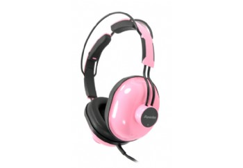 Superlux HD651 Circumaural Closed-Back Headphones Pembe