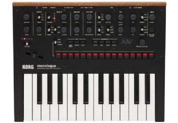 Korg Monologue Siyah - Analog Synthesizer