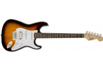 Squier Bullet® Strat With Tremolo HSS Brown Sunburst - Indian Laurel