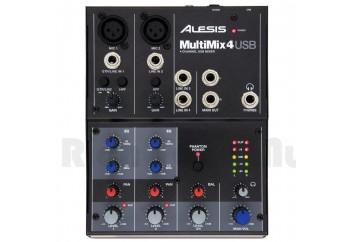 Alesis MultiMix 4 USB Mixer - 4 Kanal USB Mikser