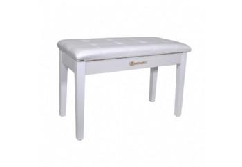 Dominguez DPB115 WH - Beyaz - Piyano Taburesi