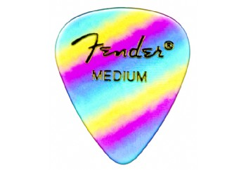Fender 351 Shape Graphic Picks Rainbow - Medium - 1 Adet